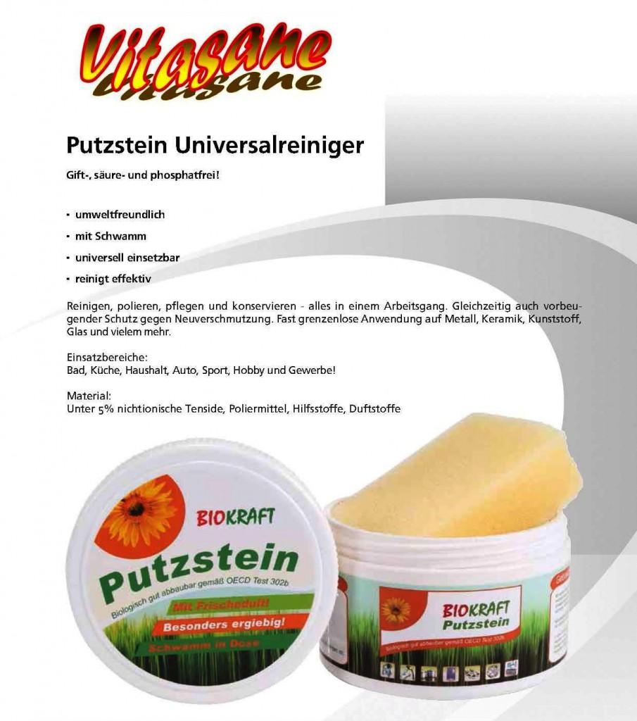 """Putzstein """"Biokraft"""" 3x"""