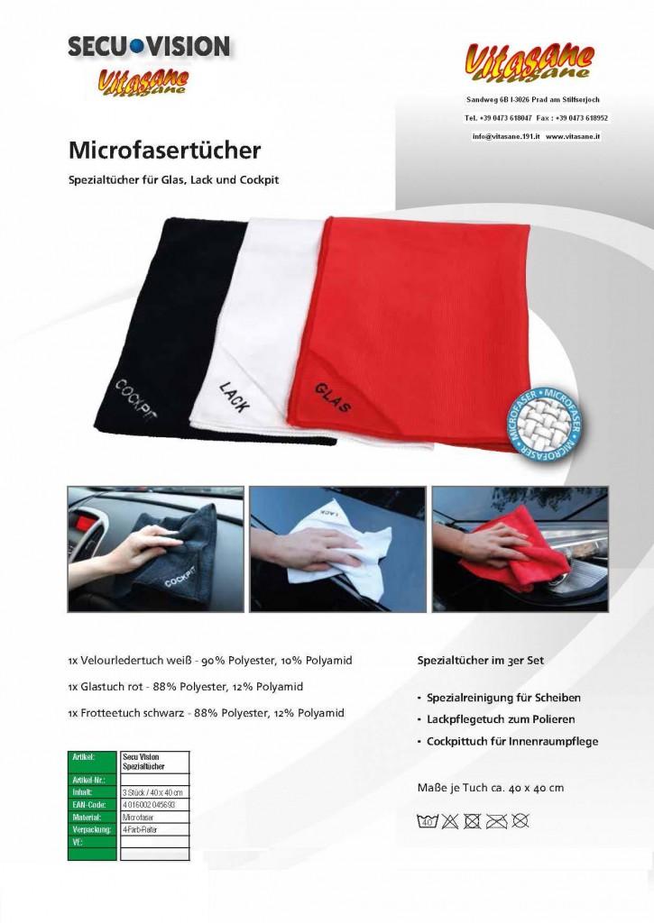 Microfasertücher Auto
