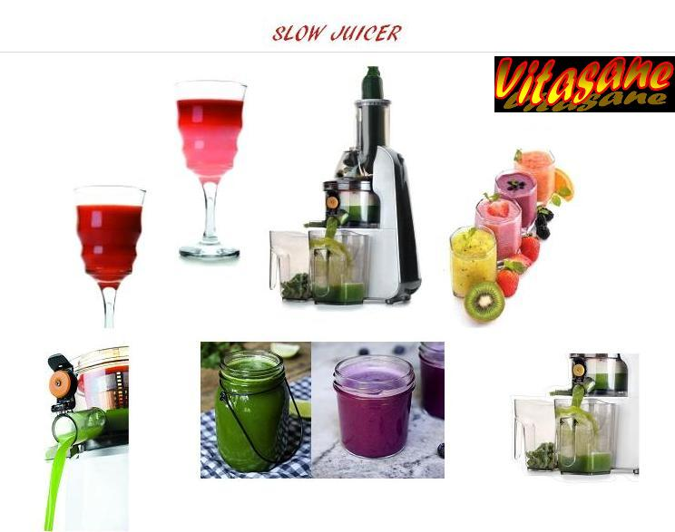 slow juicer vitasane