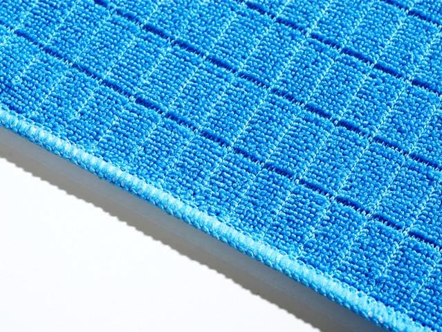 Bodentuch blau microfaser 2ER SET
